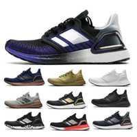 UltraBoost 20 UB 6.0 Mens Correndo Sapatos Ultra Core Triple Black White Gold Metallic Tech Indigo 5th Pack 2021 Mulheres Tenis Treinadores Sneakers