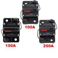 150A AMP Interruptor de circuito Dual Batería Manual Restablecer IP67 W / PRUEBA 12V 24 Volt Fusible Envío gratis con seguimiento NOMBRA