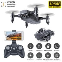 Wifi Mini RC Drone HD Camera M9 Kids Helicopter Remoto Foldable Altitude Hold 1080P RC Dron Control FPV Toys For Quadcopter Afgtt
