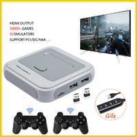 Mini consola retro de TV / videojuegos para PS1 / N64 / DC incorporado 50 emuladores con 41000 juegos Support HDMI OUT con Gamepad Wireless Y1123