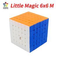 Yuxin Little Magic 6x6 Würfel Aufkleberless Magnetic Cubo Magico 6x6 Speed Cube Zhisheng Cube Educational Special Spielzeug für Kinder J1204
