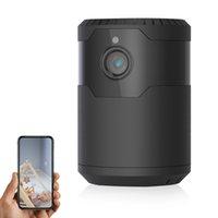 Детские / питомцы камеры видеонаблюдения Крытый домашний камеры безопасности 120 ° вращающийся инфракрасный HD ночное видение 30 метров WiFi соединение