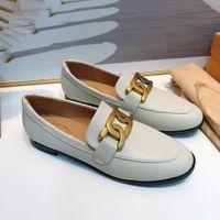 2020 جديد مصمم فاخر إمرأة جلد طبيعي المخملية المتسكعون مع النساء الخبراءتود الانزلاق على الأحذية الشقق العديد من الأساليب الحجم 34-40-
