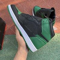 Basketbol Ayakkabıları En Kaliteli Yüksek OG 1 Zoom Racer Mavi 1 S Çam Yeşil Yasaklı Kaktüs Jack Dark Mocha