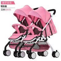 Cochecito de bebé Mutiple Stroller Twin Baby Double Double Passeggino Gemellare Carro Gemelar Detachable Venta1