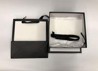 2020 Heißer Verkauf Neue Männliche Frauen Gürtel Echtes Leder Business Gürtel Spezielle Box Staubbeutel Geschenk Papiertüte Rechnungsband