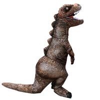 Costumes de mascotte vente chaude enfants adultes enfants costumes gonflables de dinosaures fantaisie costume de fête d'halloween drôle dessin animé carnaval ppc2220