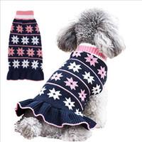 Haustier Hund Kleidung Bunte Welpen Hoodie Prismatic Plaid Strickwaren Hund Pullover Herbst Weiche Warme Welpen Hemd Mode Designs YYS3573