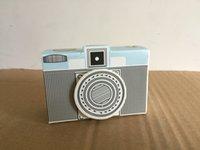 (120 pièces / lot) Boîte cadeau d'anniversaire créatif de la caméra Design Boîte de bonbons européennes pour les coffrets de la fête et les faveurs de bonbons