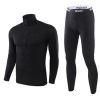 جديد الحرارية مجموعات داخلية للرجال الشتاء طويلة الأكمام الحرارية الملابس الداخلية ملابس الشتاء طويلة الرجال الحركة سميكة الملابس الحرارية 1