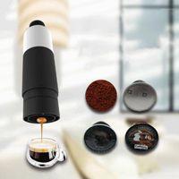 Kaffee Roasters Mini Handdruck Tragbare Maschine Kochen Cup Handbuch 21 bar Italienische Espressomaschine Extraktion Pot1