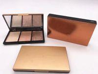 1 unids maquillaje paleta de rubor 3 colores diferentes 4Mixed Bomized Alta Calidad Envío gratis