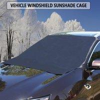 Couvre jetables Voiture magnétique Snow Sunshade Couvre-pare-brise Sun Sun Shade Fenêtre Side Windows Block Boulefre avant