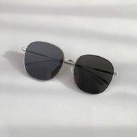 LvlouisVittonlv Ray UV400 BANS Cadre Black Friday Sun Lens Douze Designer Marque Surdimensionnée Ronde Miroir Big Femmes Lunettes Taille Sunglass