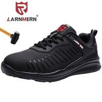 Ларнмерная мужская стальная носящая обувь для ботинок для защитных ботинок легкая противоту прокола без скольжения защитная обувь мода кроссовка 201204