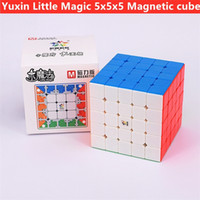 Yuxin Little Magic M 5x5x5 Magnetic Magic Cube 5x5 Speed Cube Puzzle Zhisheng 4x4x4 Cubo Magico Competition Cubes 201219