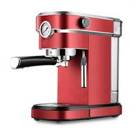 Máquina semi-automática da máquina de café da família 850W Bubble Cappuccino Máquina de espuma de leite American Espresso 220v1