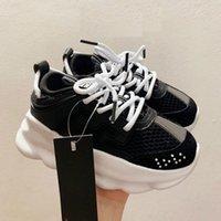 Aksiyon Üst Çocuk Sneakers İtalya Tasarımcı 2021 Çok Renkli Kauçuk Süet Leopar Beyaz Baskı Kalın Alt Erkek Kız Ayakkabı Boyutu 26-35