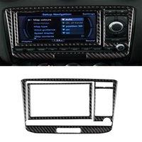 자동차 탄소 섬유 에어컨 CD 패널 Audi TT 8N 8J MK123 TTRS 2008-2014 왼쪽 및 오른쪽 드라이브 유니버설 스타일