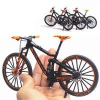 1:10 مصغرة نموذج سبيكة دراجة لعبة فنجر الدراجة الجبلية جيب دييكاست محاكاة معدنية سباق مضحك لعب لعب للأطفال