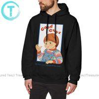 Criança S Jogar Bom Guys Chucky Oversize Roxo Pullover Hoodie Moda Streetwear Outono Hoodies