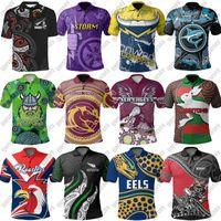 NRL Rugby League Jerseys 2021 Melbourne Storm parramatta enguias Camisa de rugby POLO Brisbane Broncos Warriors NSW maillot de rugby Tamanho S-5XL