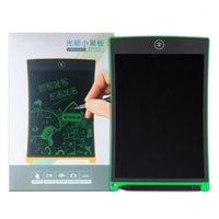 أقراص الرسومات أقلام 8.5 بوصة الأخضر المحمولة سادة الكتابة الإلكترونية LCD خط اليد خط اليد الاطفال الكبار رسم اللوحي الدفتر للمنزل قبالة