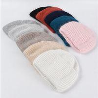 2020 Unisex Skullcap Warmer Beanies Winter Hat Autumn Blends Soft Warm Knitted Cap Men Women Hats Gorro Ski Caps Beanies F1208