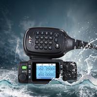 Walkie Talkie Tyt Th-8600 IP67 Impermeabile Stazione radio portatile per auto per auto ricetrasmettitore Prosciutto a due vie UHF VHF Walkie-Talkie Moto Marine