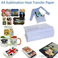 100 Blatt A4 Größe Sublimation Wärmeübertragungspapier, 100gsm Papier, Nutzung in Kleidung, T-Shirt, Tasse, Kissen usw