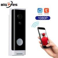 Timbells Tuya Smart Home WiFi Video Doorbell DDV-203 Security IP Cámara Teléfono de la puerta compatible con la aplicación