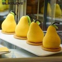 Silikolove Peap Form 3D Силиконовый торт Выпечки Формы для Мусс-Трюфель Пирожные Pan Forms Силиконовые Телефонные Торты 201023