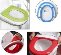 따뜻한 소프트 화장실 커버 좌석 뚜껑 패드 욕실 Closestool Protector 욕실 액세서리 세트 멀티 컬러