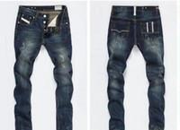 Modedesigner Mens Rissen Biker Jeans Leder Patchwork Slim Fit Moto Denim Joggers Für Männliche Beunruhigte Jeans Hosen