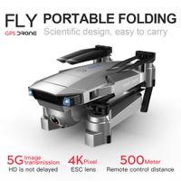 HIPAC SG907 SG901 GPS 4K 5G DRUTO CON WIFI FPV 1080P HD Cámara Dual Flow óptico RC Quadcopter Sígueme Dron Drone plegable T200910