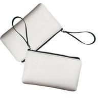 Neoprene Sacos Cosméticos Impresso Mulheres Makeup Bag Leopardo Embreagem Sacos Strap Moeda Bolsa Chave Bolsa Flor 6 Projetos Sublimação Disponível YG1025