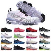 Chaussures MOC 2 Laceless 3.0 Rahat Ayakkabılar V3 Üçlü Siyah Tasarımcı Erkek Kadın Sneakers Fly Beyaz Örgü Yastık Trainers K2R5