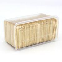 이쑤시개 일회용 이쑤시개 이쑤시개 도매 약 4,000 대의 고품질 대나무 호텔 및 레스토랑으로 만든 상자는 HB2를 사용할 수 있습니다