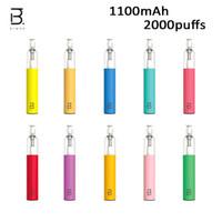 정통 BMOR Selva 일회용 포드 장치 키트 1100mAh Vape Stick 2000 퍼프 미리 채워진 5.5ml vape vs lio bee gst bang xxl