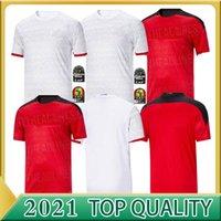 2020 2021 Egitto Casa Away Soccer Jersey M. Salah 20 21 Kahraba A. Hegazi Ramadan M.Elneny Uniformi maglie di alta qualità Camicia da calcio di alta qualità