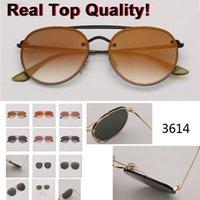 نظارات شمسية ريترو دائرة جولة خمر 3614 للنساء العلامة التجارية مصمم نظارات الشمس أنثى oculos uv400 gafas de sol mujer