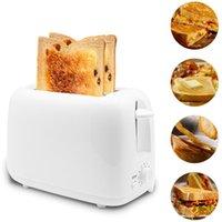 650W Автоматический тостер 2 Завтрак Хлеб-производителя Выпечки Приготовление пищи Инструмент быстрого хлеба Тостер Бытий Завтрак