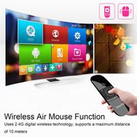 새로운 원래 Wechip W1 키보드 마우스 무선 W12.4G 플라이 에어 마우스 충전식 미니 원격 제어 안 드 로이드 TV 박스 / 미니 PC