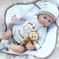 NPK 40cm Reborn Baby Premie Poupée Lifelike Little Garçon Bébé dans Blanket Main Cheveux De Haute Qualité Poupée De Haute Qualité Colllecttibles 201203