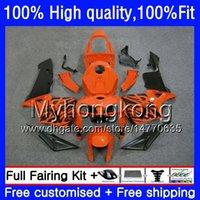 100% Fit For HONDA CBR600F5 CBR600 RR CBR600RR 05 48HM.241 CBR 600RR CBR 600 CC RR 600CC F5 05 06 2005 2006 Injection Orange black Fairings