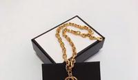 Nuova collana punk materiale di ottone di alta qualità con le parole per il regalo dei gioielli della collana del pendente dell'uomo e delle donne