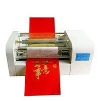 Impresoras Máquina de estampado sin montaje MODELO 360C Papel de oro de oro Cartón de cartón de cartón automático1