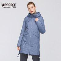 MIEGOFCE 2021 Kadın Parkas Pamuk Yastıklı Ceket Yeni Bahar Tasarımları Kadın Ceketler Hood Ile Uzun Sıcak Moda Mont Anne Hot1 Için