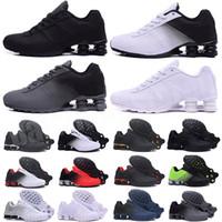 Shox 809 803 R4 2021 تسليم 809 أحذية الرجال انخفاض الشحن بالجملة الشهيرة تسليم أوقية نيوزيلندي رجل رياضي أحذية رياضية الحجم 40-46