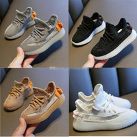 Kinder Schuhe Sneakers Kleinkind Kanye West Run Schuhe Säuglings Baby Kinder Jugend Jungen und Mädchen Chaussures Gießen Enfants